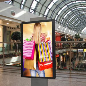how stores can use digital signage for a positive customer experience. Black Bedroom Furniture Sets. Home Design Ideas