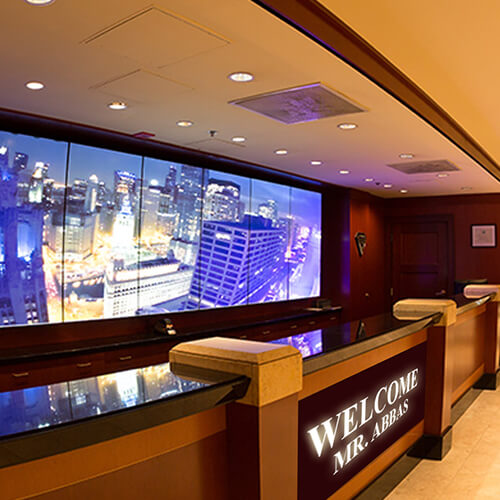 Indoor Led Display Board For Restaurant Hotels And