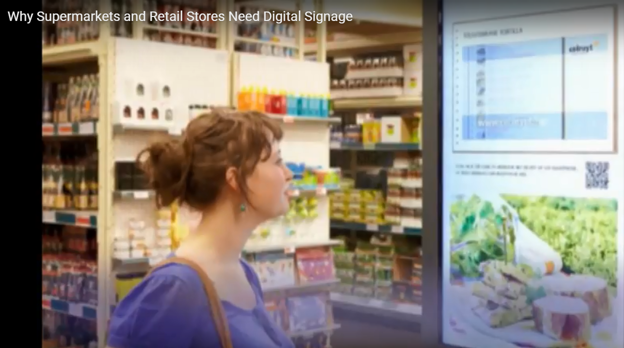 Indoor LED Display for Shopping Malls, Retail Digital Signage