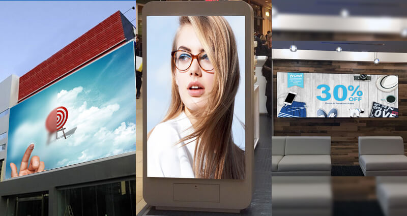 Digital LED signage solutions